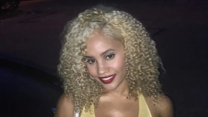 Desiree Gibbon, of Queens, New York, reportedly was found dead on Sunday with her throat slashed.