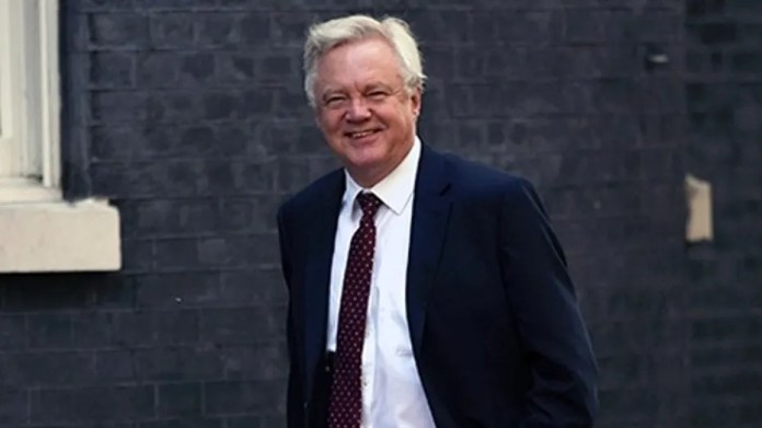 David Davis resigned two days after a crunch meeting to hash out a final Brexit strategy.