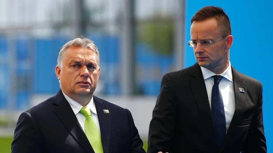 Hungarian Prime Minister Viktor Orban's, left, government is stopping universities from offering gender studies courses.