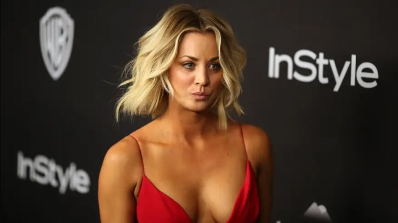Actress Kaley Cuoco has taken to posting PDA after PDA after PDA