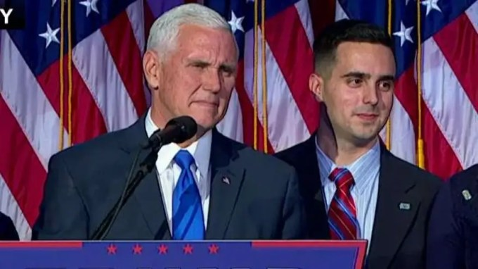 Vice president-elect addresses the nation from Trump HQ in New York City