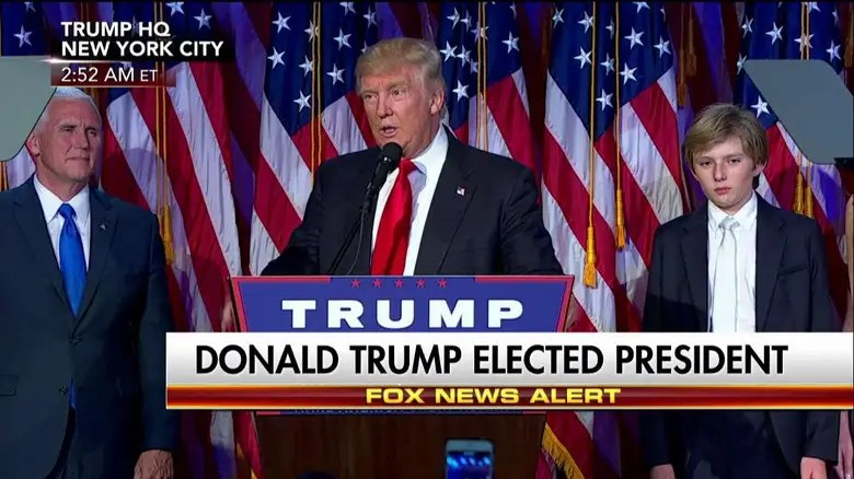 Image result for trump after victory