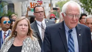 Sanders under scrutiny for time as president of Vermont's Burlington College