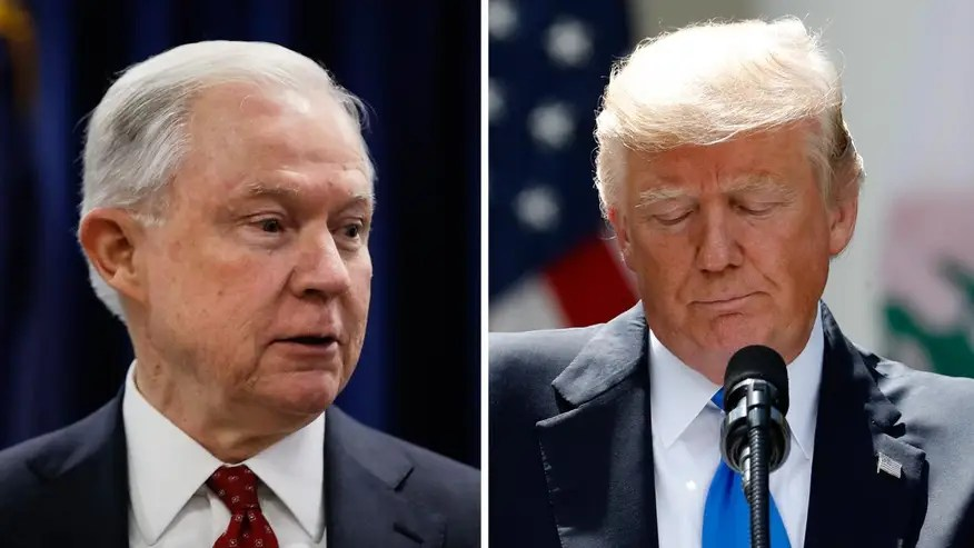 The president was unwilling to put a timeline on when or whether he would fire Sessions; Kevin Corke explains on 'Special Report'