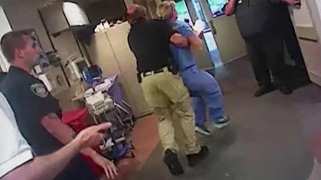 Body camera footage shows arrest