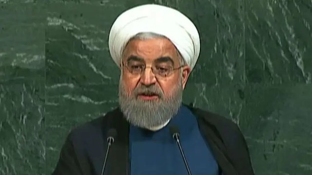 Iranian president responds to Trump's U.N. address, claims country is following agreement; senior correspondent Eric Shawn reports from the United Nations