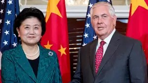 Secretary of state kicks off high-profile trip to Beijing; Rich Edson reports from the State Department.