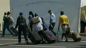 Since January, more than 13,000 people from around the world have crossed from the U.S. into Canada illegally; Molly Line reports from Montreal.