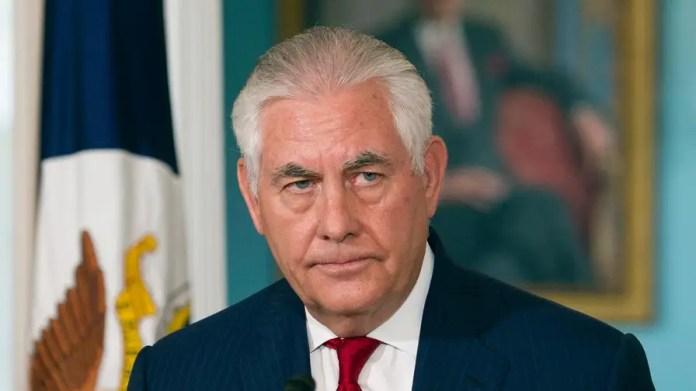 Reports of Rex Tillerson resigning, calling President Trump a moron deemed false.