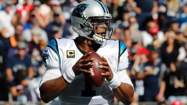 Newton's eyebrow-raising response to a female reporter's question draws swift response from the National Football League.