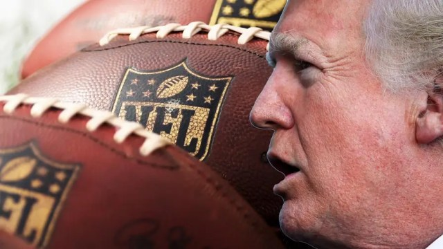 President Donald Trump continues his ongoing feud with the NFL and some of its players' national anthem protests. Now, the president is taking a new angle and targeting the league's tax status.