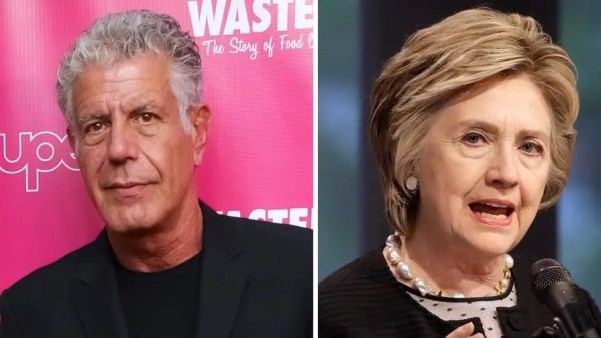 Anthony Bourdain took to Twitter to slam Hillary Clinton's CNN interview regarding Harvey Weinstein, calling it 'shameful in its deflection and its disingenuousness [sic].'