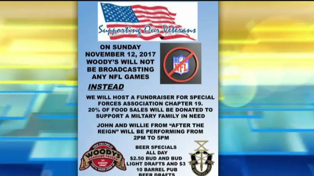 Co-owners of Woody's Roadside Tavern speak out on the success of their Sunday event on 'Fox & Friends.'