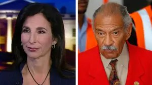 Former staffer of Rep. John Conyers, Melanie Sloan, details her allegations of sexual harassment, her conversation with Nancy Pelosi and explains why he should step down. #Tucker