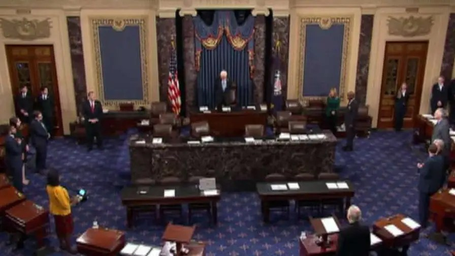 Live feed of the Senate floor.