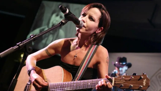 Dolores O'Riordan helped the band rocket to fame in the 1990s with hits like Zombie, Linger and Dreams.