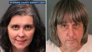 Jonathan Hunt reports on the couple arrested for allegedly keeping their 13 starving children captive.