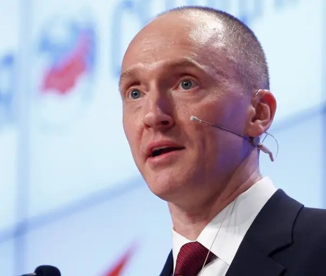 Carter Page Who Is He