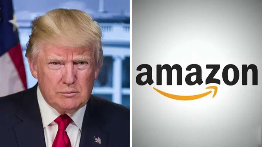 Image result for trump amazon