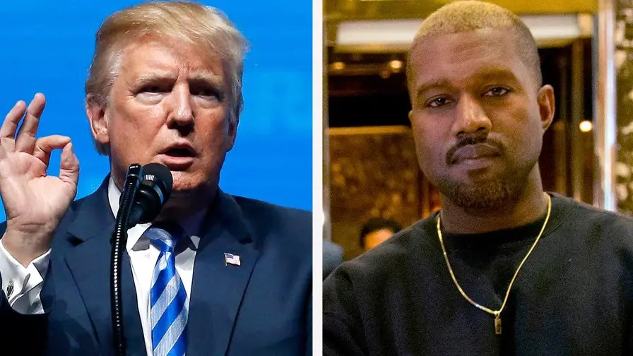 President Trump thanks rapper Kanye West for increasing his support with African-Americans.
