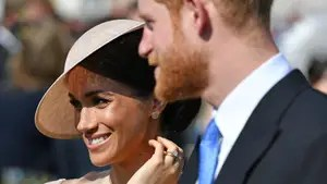 The Duke and Duchess of Sussex, Prince Harry and Meghan Markle, make their first appearance as a married couple three days after tying the knot to celebrate the birthday of Prince Charles.