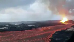 Hawaii residents begin to assess damage as thousands are evacuated; Jeff Paul reports.