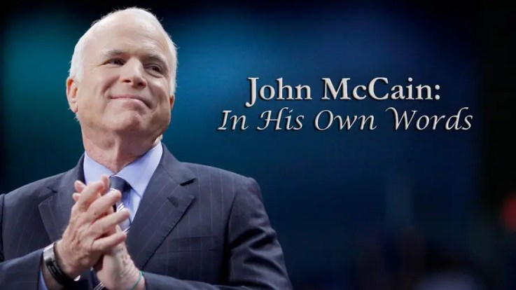 """Arizona Senator John McCain inspired the nation with his character, heroism, humility and public service. Here's a look back at some of the """"Maverick's"""" most memorable speeches and off-the-cuff remarks."""