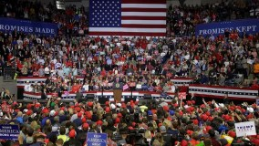 Crowd at Trump rally sings 'Amazing Grace' after woman collapses | Fox News
