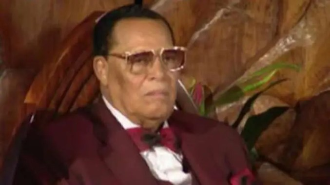 MEDIAPublished 4 hours ago CNN anchor told Farrakhan it was 'honor' to meet him in 'amazing' 2007 interview