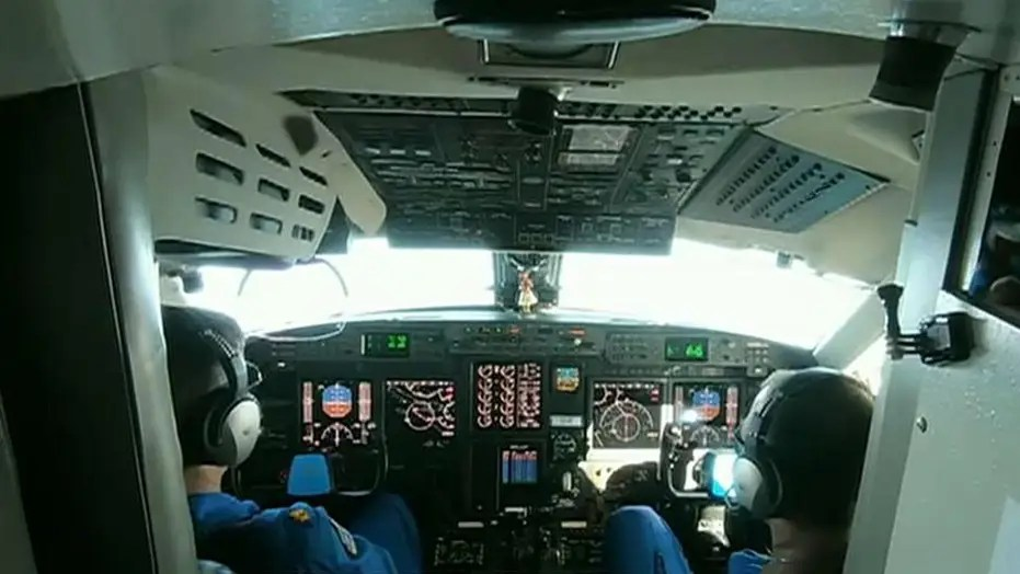 NOAA Hurricane Hunters flight director on getting 'up close and personal' with Dorian