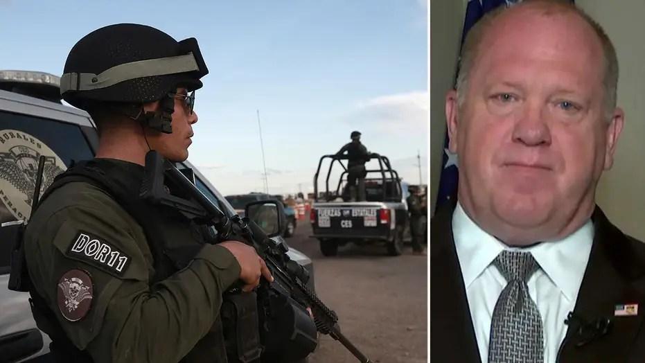 Border wall debate amid Mexican drug cartel murder of 9 US citizens
