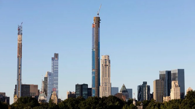 Central Park Tower Nyc S Tallest Residential Building To