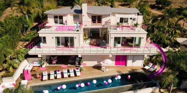 Airbnb unveils Barbie Malibu dream home