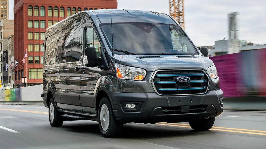 2022 Ford E-Transit electric van unveiled with sub-$45,000 price | Fox  Business