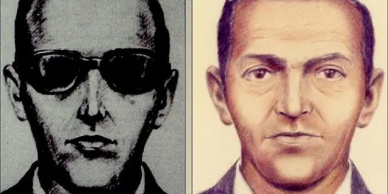 The FBI released these sketches after a man named D.B. Cooper hijacked a plane flying from Portland to Seattle on Nov. 24, 1971, and then parachuted out the back door with $200,000, never to be seen again