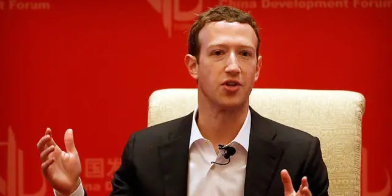 Facebook CEO Mark Zuckerberg speaks at a panel discussion held during the China Development Forum at the Diaoyutai State Guesthouse in Beijing in 2016.