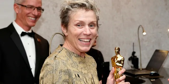 The man accused of stealing the Oscar for best actress from Frances McDormand on Sunday was charged with theft, the Los Angeles County district attorney's office said. The charges were later dropped.