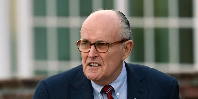 "Giuliani said requests of the executive branch can't be ""overly intrusive."" (Associated Press)"
