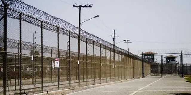 The California Institution for Men prison fence is seen on August 19, 2009 in Chino, California. (Getty Images)