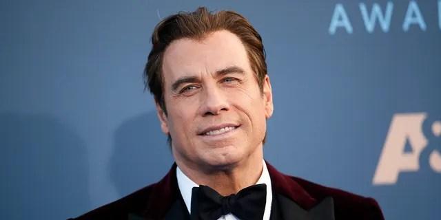 Actor John Travolta arrives at the 22nd Annual Critics' Choice Awards in Santa Monica, California, U.S., December 11, 2016.