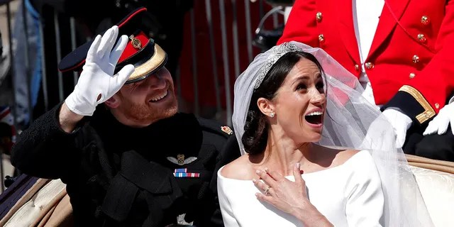 Millions in the U.S. tuned in to watch Prince Harry and Meghan Markle tie the knot.