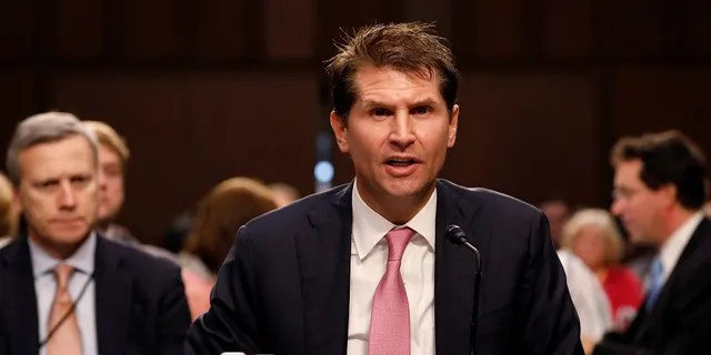 In this July 26, 2017 photo, Bill Priestap, assistant director of the FBI's Counterintelligence Division, testifies during a Judiciary Committee hearing into alleged collusion between Russian and the Trump campaign.