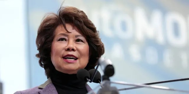 Transportation Secretary Elaine Chao also served as the Department of Labor secretary under former President George W. Bush.