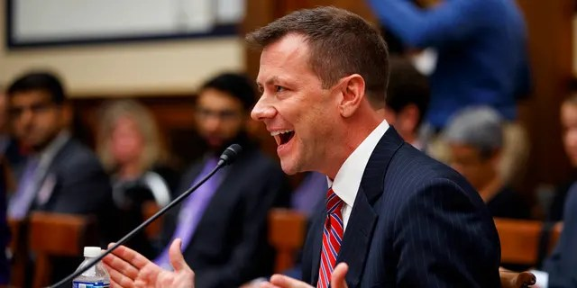 FBI Deputy Assistant Director Peter Strzok, testifies before a House Judiciary Committee joint hearing on