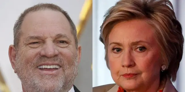 Harvey Weinstein tried to leverage his relationship with Hillary Clinton to put pressure on journalist Ronan Farrow, according to a report.