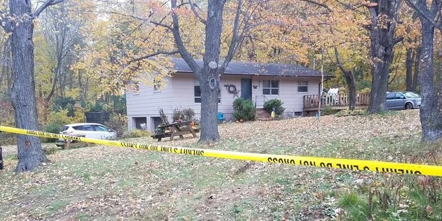 Police responded to a 911 call just before 1 a.m. at a home west of Barron, Wisconsin.