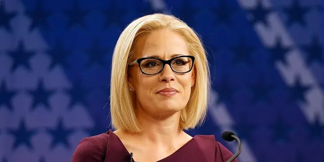 Sen. Kyrsten Sinema, D-Ariz., is seen as a possible defection on impeachment.