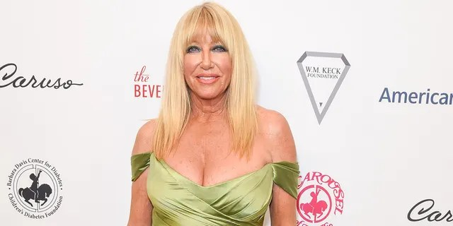 Suzanne Somers wants to pose for Playboy again when she turns 75.