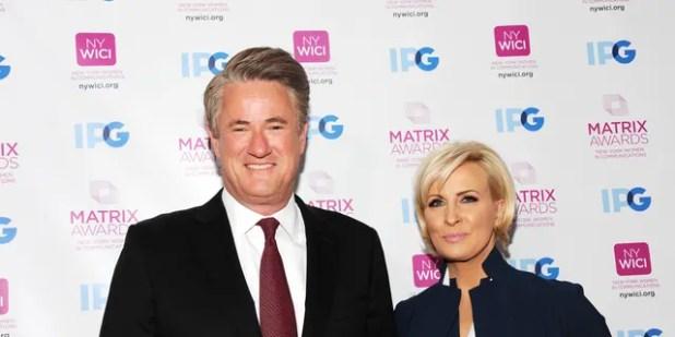 Brzezinski and his co-host Joe Scarborough did not agree on how
