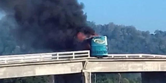 Drug cartels like the Sinaloa have been known to torch buses and blow apart roadways.